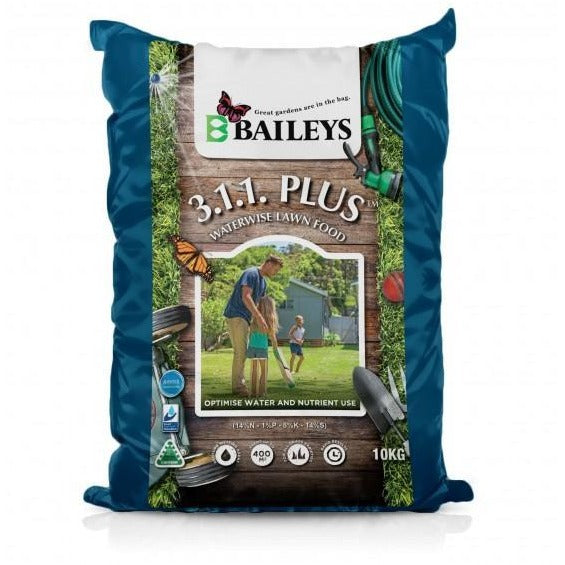 Baileys Lawn Fertiliser 311 Plus 10kg