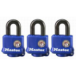 Padlock Covered 3 Keyed Alike 40mm