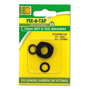 Fix A Tap Nut & Tail Washers 12mm