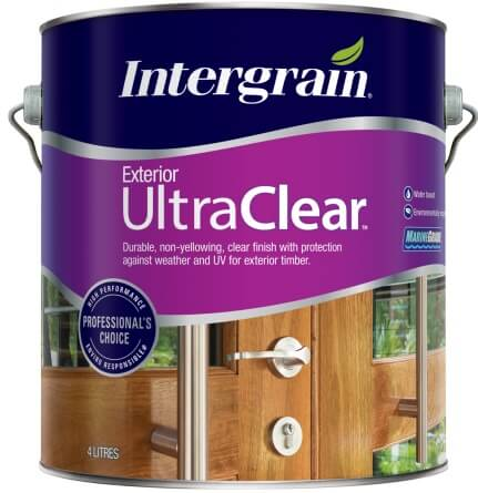 Intergrain Ultraclear Exterior Gloss 4 Litre