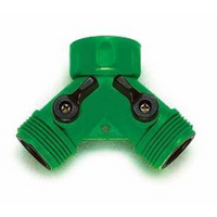 Tap Adaptor 2 Way Plastic Threaded