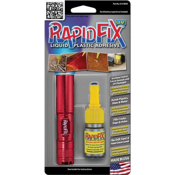 Rapid Fix UV Plastic Adhesive