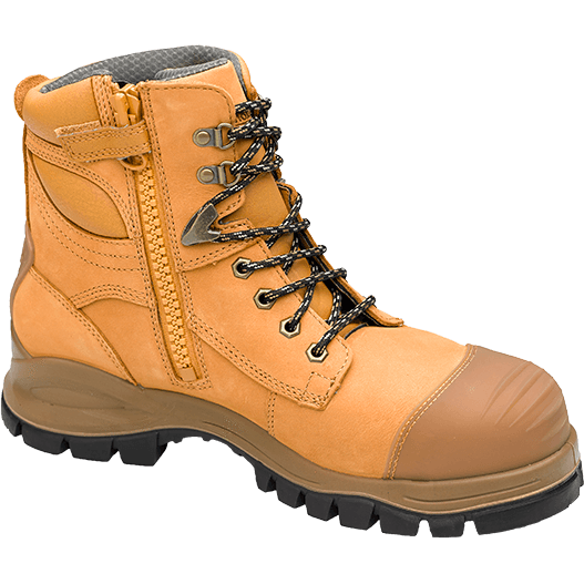 Safety Boots Zip Up Style 992