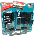 Makita ImpactX 35pce Impact Rated Driver Set in Case