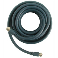 TV Flylead Shield Cable with Adaptors 5m