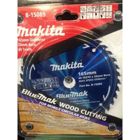 Makita Blade BlueMak Saw 165x20x40t