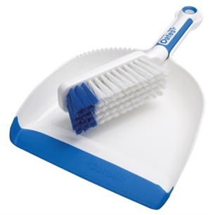 Dustpan Set Plastic Superior Soft Grip