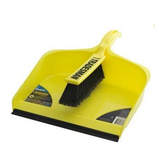 Dustpan Set Tradesman Extra Wide