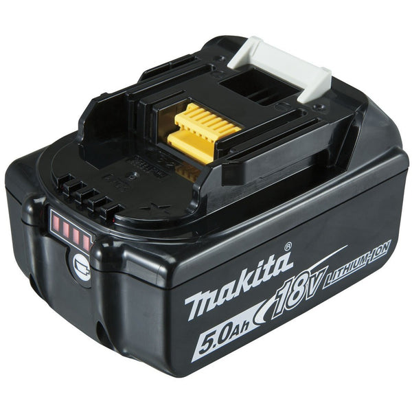 Battery 18V 5.0Ah Li-ion with fuel gauge indicator