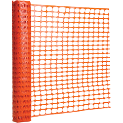 Extruded plastic barricade mesh 6kg 1m x  50m