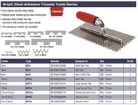 DTA Adhesive Trowel Notched 6mm