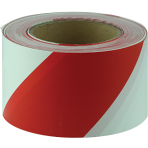 Tape Barricade Red and White 100m