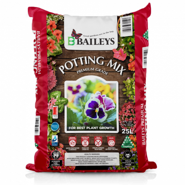 Baileys Potting Mix Premium 50Lt