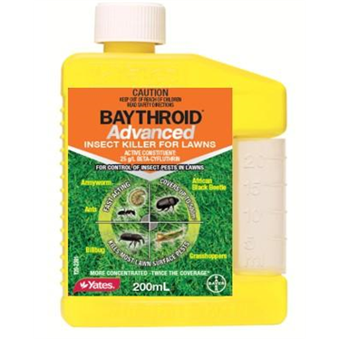Baythroid Advanced Insecticide for Lawns 200ml
