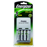 Battery Charger Energizer NiMH 8hr with 4xAA