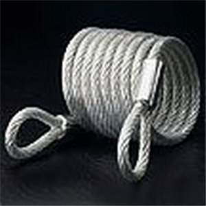 Cable Woven Steel Coil 6mm x 1.8m