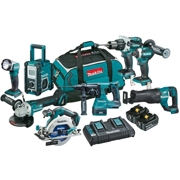 Makita 8 piece Combo Kit
