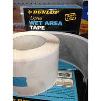 Dunlop Express Wet Area Tape 80mmx10m