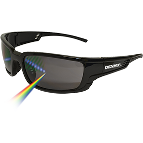Denver Polarised Smoke Safety Glasses