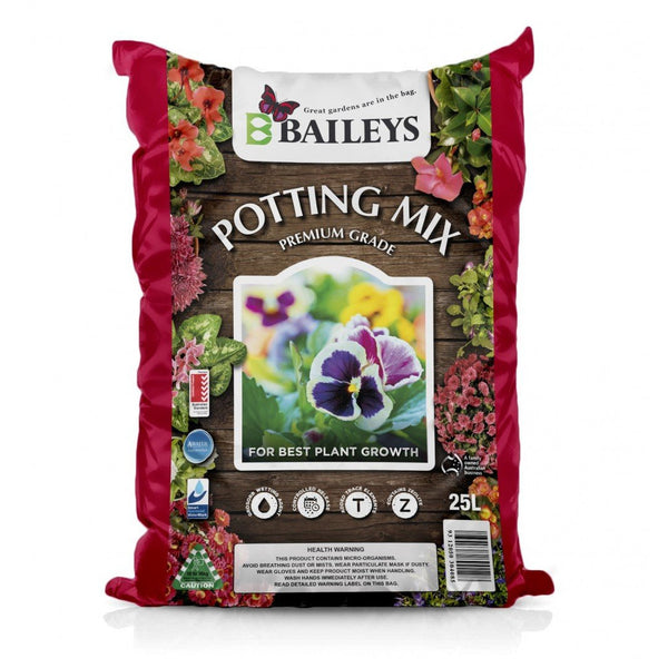 Baileys Potting Mix Premium 25lt