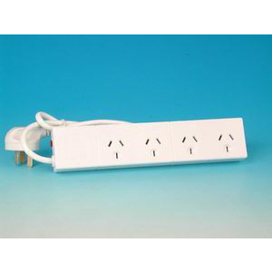 Arlec 4 Outlet Powerboard