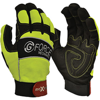 G-Force HiVis Mechanics Riggers Glove