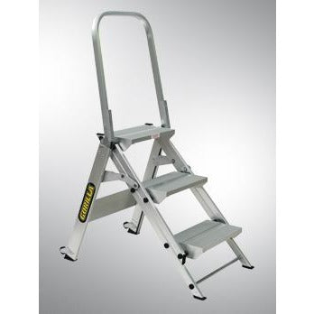 Heavy Duty 3 Step Stair 150kg Rated