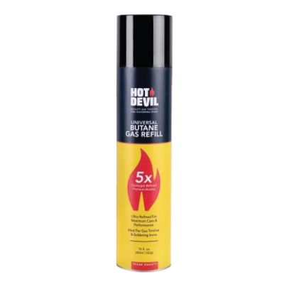 Hot Devil Butane Gas Refill 300ml (162g)