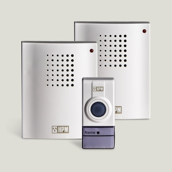 HPM Wireless Door Chime with 2 Recievers