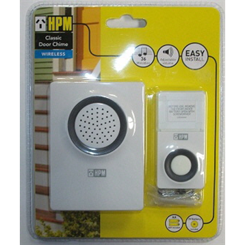 HPM Wireless Door Chime 100m