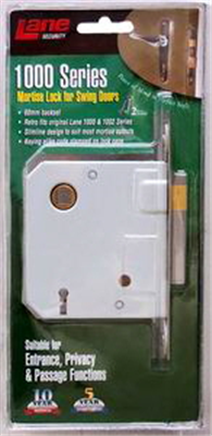Mortice Lock 1000 Series Satin Stainless