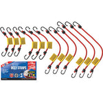 Lion Occy Straps 12 Value Pack Assorted
