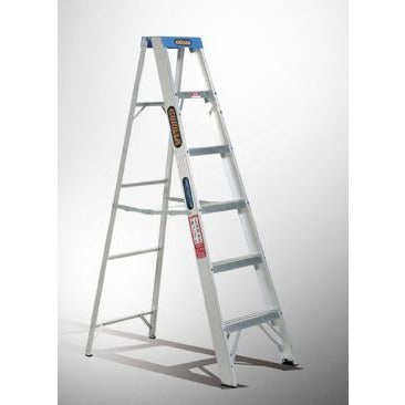 Ladder 1.8m Aluminium Single Sided 120kg