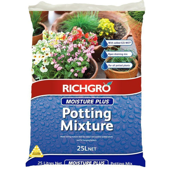 Moisture Plus Potting Mix Richgro 25litre