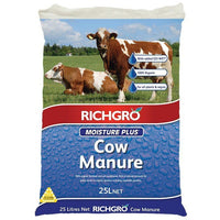 Moisture Plus Cow Manure Richgro 25litre