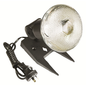 HPM Flood Light Portable inc Globe