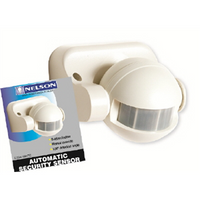 Light Sensor PIR White Outdoor