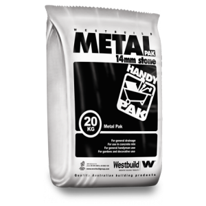 Metal Pack Aggregate 14mm 20kg