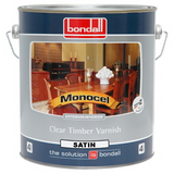Monocel Clear Timber Varnish Satin