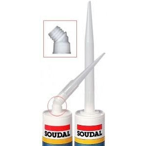 Soudal Swivelling Nozzles with Caps