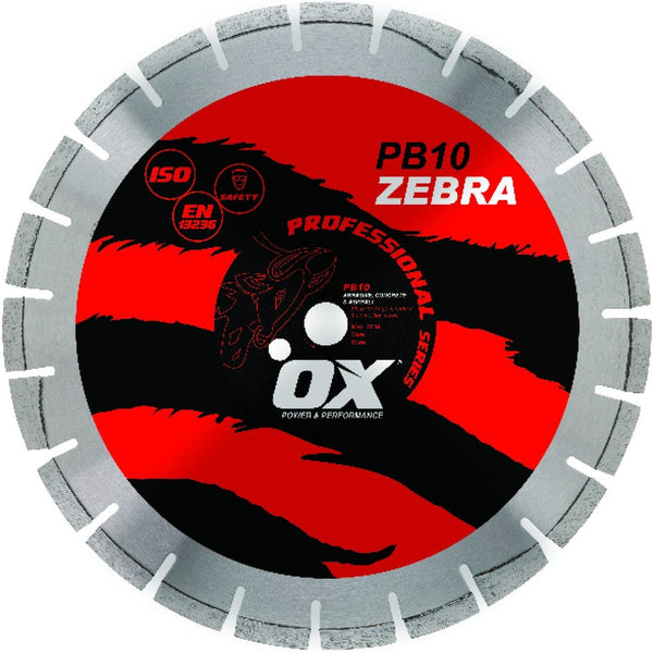 OX Diamond Blade Professional 14'' 350mm Segmented