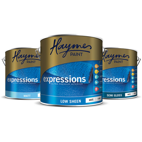 Haymes Ultrapremium Matt Acrylic White
