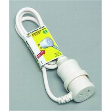 Extension Lead Piggy Back 10amp 1m