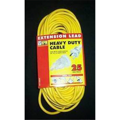 Extension Lead Heavy Duty 10amp 25m
