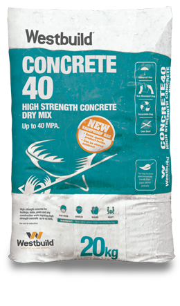 Concrete40 Pack High Strength 40Mpa 20kg