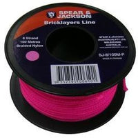 S&J Bricklayers Line 8 Strand 100m