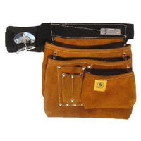 Leather Prem 6 Pocket Nail Bag