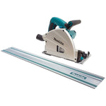 Plunge Cut Circular Track Saw 165mm 1300W 1400mm Rail