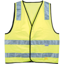 Hi-vis Yellow Safety Vest - day/night use
