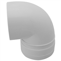 PVC Stormwater Elbow 90mm x 90 deg M&F